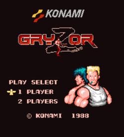 Gryzor [T-Eng1.0][a1] ROM